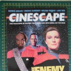 Cine: REVISTA CINE CINESCAPE OCTUBRE 1995 STAR TREK VOYAGER DS9 ORIGINAL EN INGLES. Lote 172732323