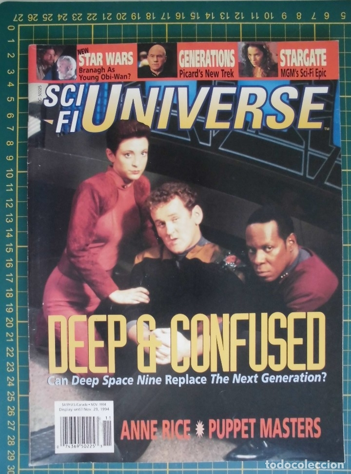 REVISTA CINE SCI FI UNIVERSE NOVIEMBRE1994 STAR TREK DS9 STAR WARS ORIGINAL EN INGLES (Cine - Revistas - Star Ficcion)