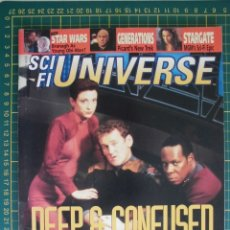 Cine: REVISTA CINE SCI FI UNIVERSE NOVIEMBRE1994 STAR TREK DS9 STAR WARS ORIGINAL EN INGLES. Lote 172732342