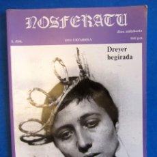 Cine: REVISTA DE CINE NOSFERATU. NÚMERO 5. ENERO 1991. LA MIRADA DREYER. Lote 172780129