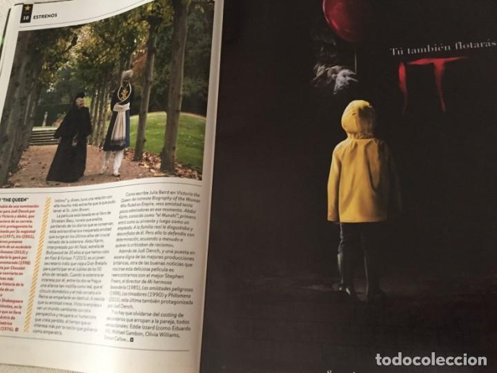 Cine: REVISTA CINERAMA SEPTIEMBRE 2017 PORTADA DESPLEGABLE NINJAGO LA LEGO PELICULA TOM CRUISE - Foto 7 - 172853947
