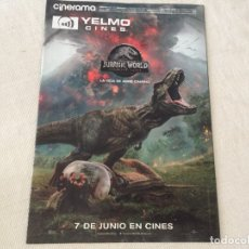Cine: REVISTA CINERAMA JUNIO 2018 JURASSIC WORLD ANT-MAN Y LA AVISPA. Lote 172854995
