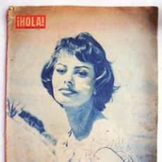 Cine: SOFÍA LOREN. REVISTA HOLA. 1958.. Lote 173018509