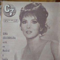 Cine: GINA LOLLOBRIGIDA REVISTA CINE EN 7 DÍAS AÑO 1965. Lote 173160614
