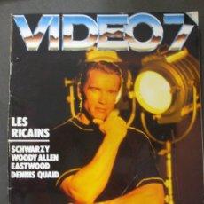 Cine: VIDEO 7 Nº 109 - LES RICAINS. Lote 173234493