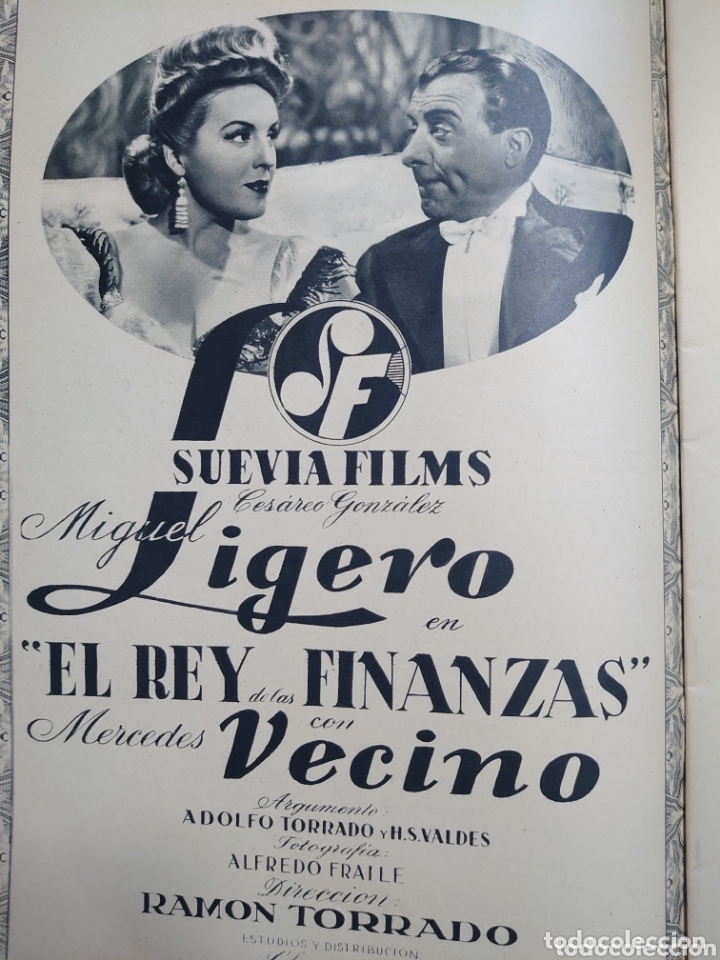 Cine: Conchita Montes revista Cámara año 1944 - Foto 2 - 173350569