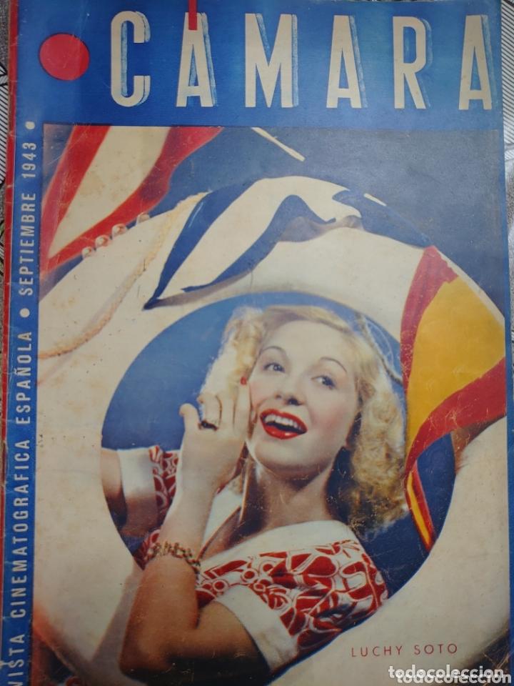 LUCHY SOTO REVISTA CÁMARA AÑO 1943 (Cine - Revistas - Cámara)