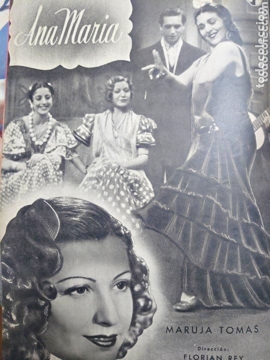 Cine: Isabel de Pomes revista Cámara año 1943 - Foto 2 - 173352810