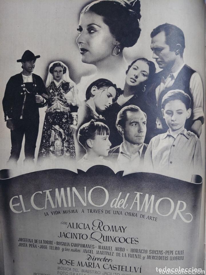 Cine: Isabel de Pomes revista Cámara año 1943 - Foto 3 - 173352810