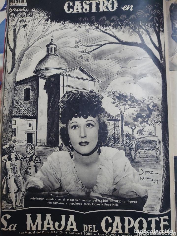Cine: Isabel de Pomes revista Cámara año 1943 - Foto 4 - 173352810