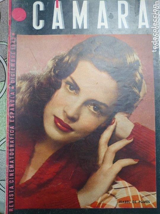 ISABEL DE POMES REVISTA CÁMARA AÑO 1943 (Cine - Revistas - Cámara)