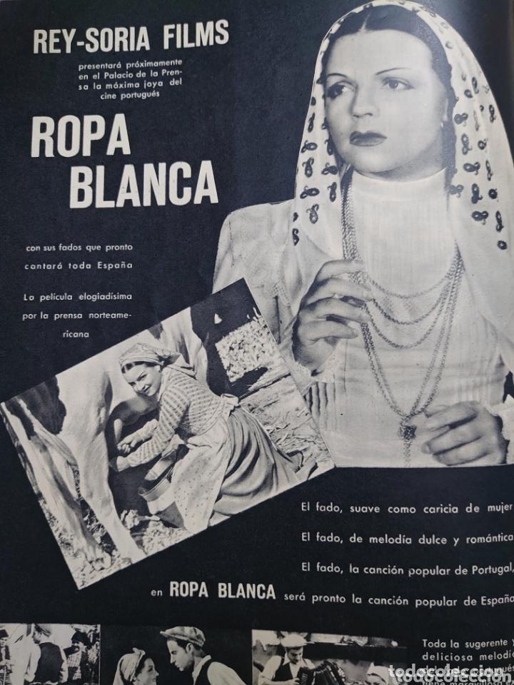 Cine: Marta Santa Olalla.revista Cámara año 1943 - Foto 2 - 173353180