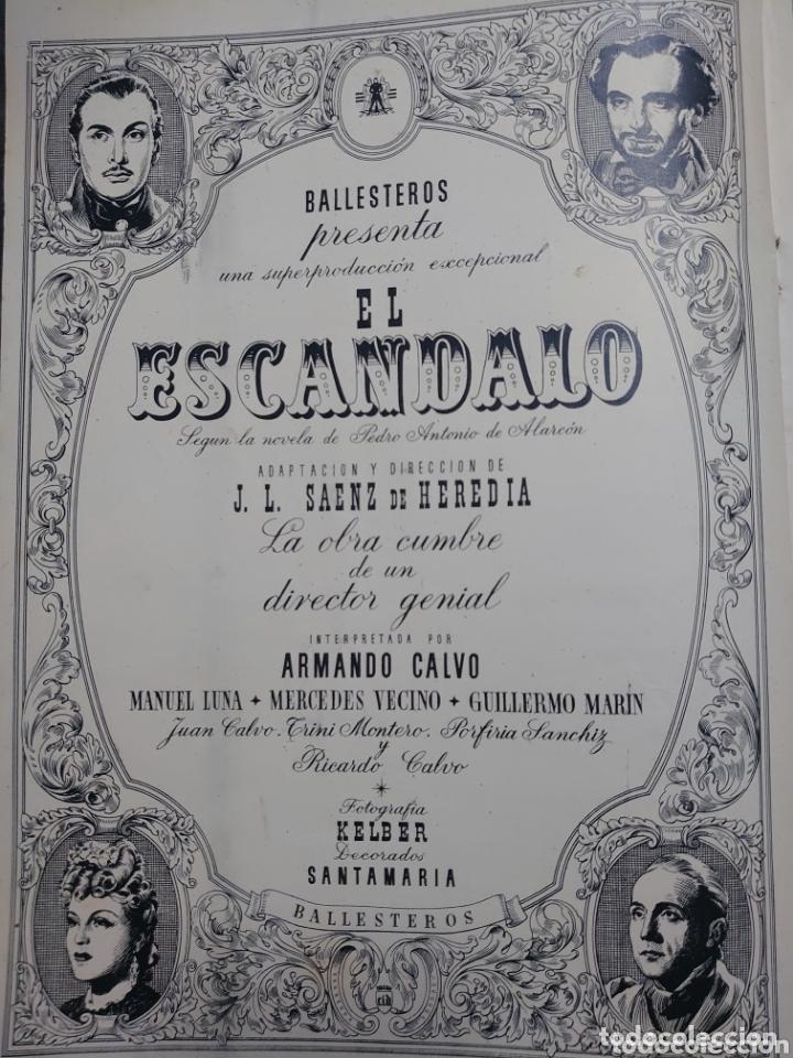 Cine: Marta Santa Olalla.revista Cámara año 1943 - Foto 3 - 173353180