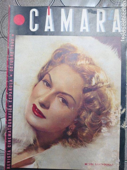 MARTA SANTA OLALLA.REVISTA CÁMARA AÑO 1943 (Cine - Revistas - Cámara)