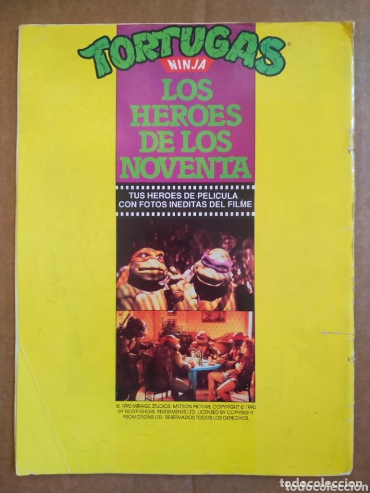 Cine: Tortugas Ninja: Los Héroes de los Noventa / La Revista de la Película (Ediciones Zinco, 1990). - Foto 2 - 173369025
