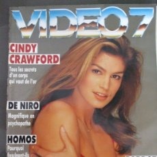 Cine: VIDEO 7 Nº 130 - CINDY CRAWFORD-DE NIRO-BARDOT. Lote 173381473