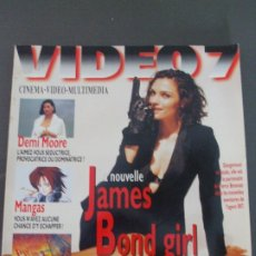 Cine: VIDEO 7 Nº 161-DEMI MOORE-JAMES BOND GIRL. Lote 173399313