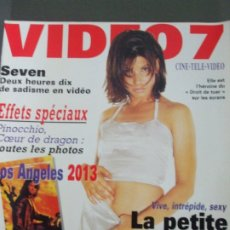 Cine: VIDEO 7 Nº 171-SEVEN-BULLOCK. Lote 173408190