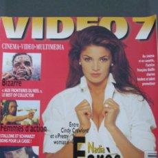 Cine: VIDEO 7 Nº 163-NADIA FARES. Lote 173409372