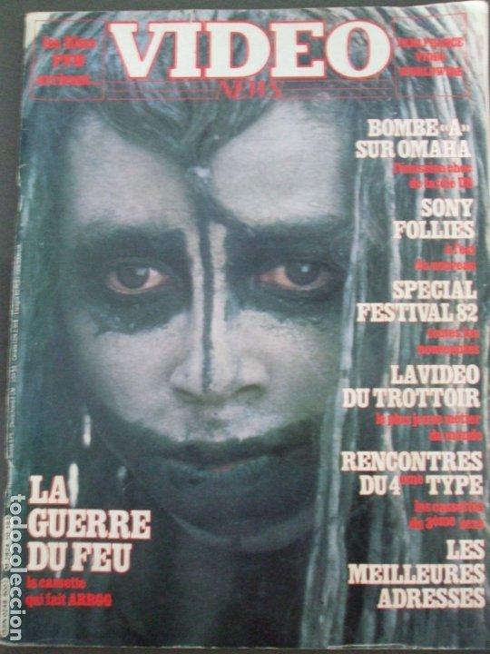 VIDEO NEWS Nº 10-LA GUERRE DU FEU (Cine - Revistas - Otros)