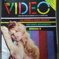 Cine: TELE CINE VIDEO Nº17-LE RETOUR DE BRIGITE BARDOT. Lote 173414755