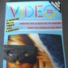 Cine: TELE CINE VIDEO HORS SERIE- CATALOGUE 4032 CASSETTES-1982. Lote 173415448