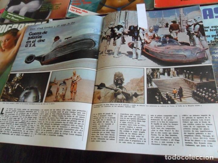 Cine: STAR WARS 11 NUEVO FOTOGRAMAS PRIMERAS RESEÑAS REPORTAJE CRÍTICA DE LA GUERRA DE LAS GALAXIAS 1977. - Foto 5 - 173491528
