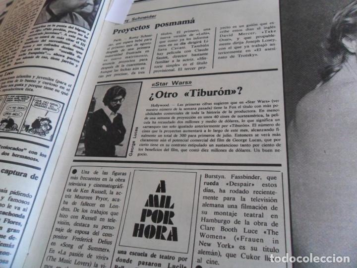 Cine: STAR WARS 11 NUEVO FOTOGRAMAS PRIMERAS RESEÑAS REPORTAJE CRÍTICA DE LA GUERRA DE LAS GALAXIAS 1977. - Foto 7 - 173491528