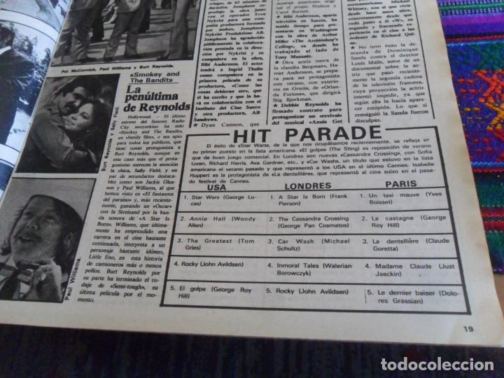 Cine: STAR WARS 11 NUEVO FOTOGRAMAS PRIMERAS RESEÑAS REPORTAJE CRÍTICA DE LA GUERRA DE LAS GALAXIAS 1977. - Foto 9 - 173491528