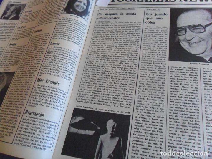 Cine: STAR WARS 11 NUEVO FOTOGRAMAS PRIMERAS RESEÑAS REPORTAJE CRÍTICA DE LA GUERRA DE LAS GALAXIAS 1977. - Foto 11 - 173491528