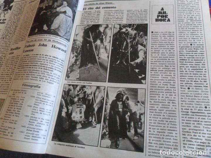Cine: STAR WARS 11 NUEVO FOTOGRAMAS PRIMERAS RESEÑAS REPORTAJE CRÍTICA DE LA GUERRA DE LAS GALAXIAS 1977. - Foto 22 - 173491528