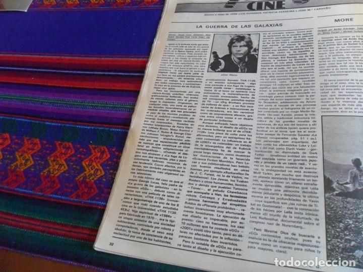 Cine: STAR WARS 11 NUEVO FOTOGRAMAS PRIMERAS RESEÑAS REPORTAJE CRÍTICA DE LA GUERRA DE LAS GALAXIAS 1977. - Foto 31 - 173491528