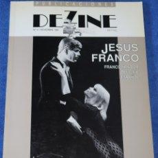 Cine: PUBLICACIONES DEZINE Nº 4 - JESÚS FRANCO: FRANCOTIRADOR DEL CINE ESPAÑOL (1991). Lote 173509252