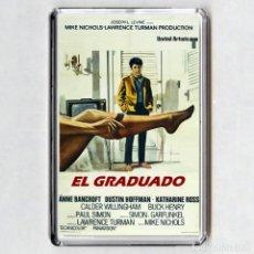 Cine: IMAN ACRÍLICO NEVERA - EL GRADUADO (CINE). Lote 221698760