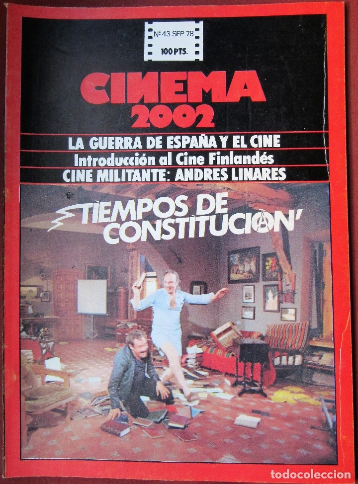 CINEMA 2002 NÚMERO 43 (Cine - Revistas - Cinema)
