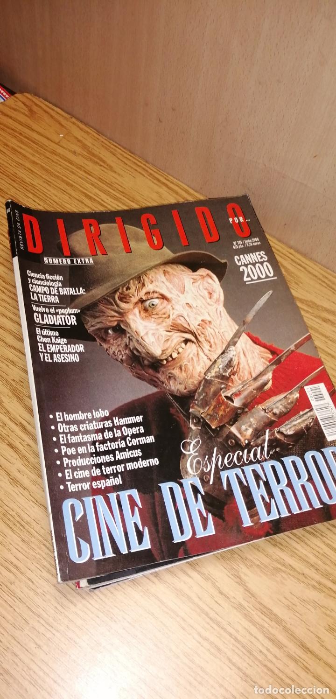 DIRIGIDO POR... ESPECIAL CINE DE TERROR. CANNES 2000. GLADIATOR (Cine - Revistas - Dirigido por)