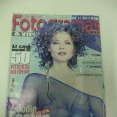 Cine: REVISTA DE CINE FOTOGRAMAS JOIDE FOSTER INTIMA Nº 1847 AÑO 1997. Lote 174008950