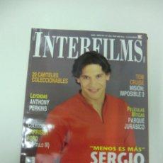 Cine: REVISTA DE CINE INTERFILMS SERGIO PERIS-MENCHETA Nº 142 AÑO 2000 16 CARTELERAS CINE DE MANO. Lote 174010173