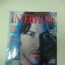 Cine: REVISTA DE CINE INTERFILMS KEANU REEVES Nº 150 AÑO 2001 16 CARTELERAS CINE DE MANO. Lote 174011968