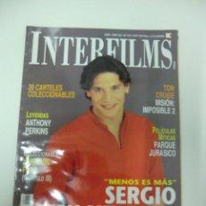 Cine: REVISTA DE CINE INTERFILMS SERGIO PERIS-MENCHETA Nº 142 AÑO 2000 16 CARTELERES CINE DE MANO. Lote 174013503