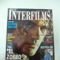 Cine: REVISTA DE CINE INTERFILMS ANTONIO BANDERAS EL ZORRO Nº 122 AÑO 1998 8 CARTELERAS CINE DE MANO. Lote 174014762