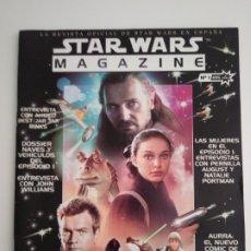 Cine: STAR WARS MAGAZINE Nº 1. REVISTA OFICIAL DE STAR WARS EN ESPAÑA. AÑO 2000.. Lote 174017489