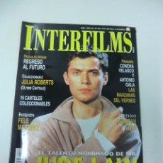 Cine: REVISTA DE CINE INTERFILMS JUDE LAW Nº 139 AÑO 2000 16 CARTELERAS CINE DE MANO. Lote 174019895