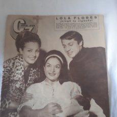 Cinema: N°135 REVISTA CINE EN 7 DIAS 1963 LOLA FLORES , CARMEN SEVILLA. Lote 174028588