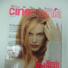 Cine: REVISTA DE CINE CINEMANIA NICOLE KIDMAN Nº17 AÑO 1997. Lote 174028727