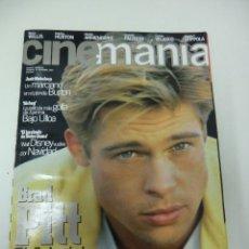 Cine: REVISTA DE CINE CINEMANIA BRAD PITT Nº15 AÑO 1996. Lote 174028942