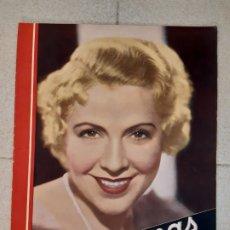 Cine: REVISTA CINEGRAMAS, CATALINA BÁRCENA. Nº 30, 7 DE ABRIL DE 1935.. Lote 174284497