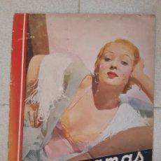 Cinema: REVISTA CINEGRAMAS, IDA LUPINO. Nº 28, 24 DE MARZO DE 1935.. Lote 174307858