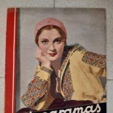 Cinema: REVISTA CINEGRAMAS, ANNA STEN. Nº 24, 24 DE FEBRERO DE 1935.. Lote 174308589