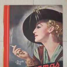 Cine: REVISTA CINEGRAMAS, BRIGITTE HELM. Nº 22, 10 DE FEBRERO DE 1935.. Lote 174308800